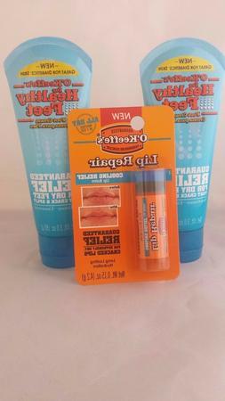 3oz Healthy Feet Cream Tube, 2 Pack