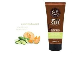 Hemp hand and body lotion - 8 oz pump cucumber/melon