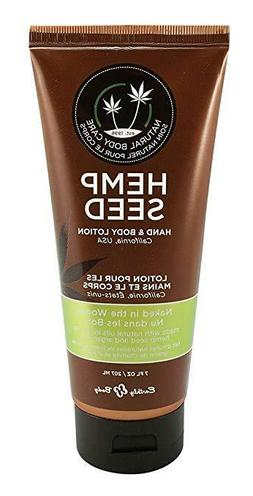 Earthly Body Hemp Seed Hand & Body Lotion