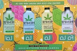 HEMPZ -Herbal Body Moisturizers -Body Gift Set Hemp Seed Oil