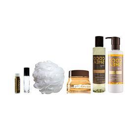 HONEY COCOSHEA Bath & Body Works 6 Piece Set of Honey Coco S