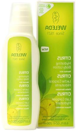 Weleda Hydrating Body Lotion Citrus -- 6.8 fl oz - 2pc
