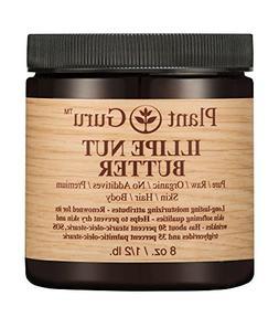 Illipe Nut Body Butter 8 oz. 100% Pure Raw Fresh Natural Col