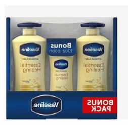 Vaseline Intensive Care Aloe Soothe Lotion 3 Pack