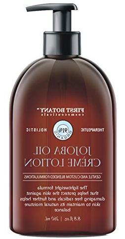 Jojoba Oil Crème lotion 9 fl oz - Organic, Moisturizing, Hy
