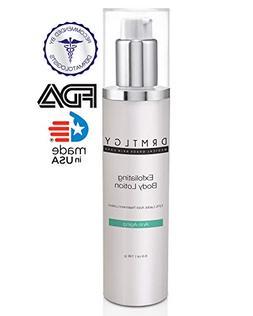 DRMTLGY Keratosis Pilaris Treatment Lactic Acid Skin Lotion.