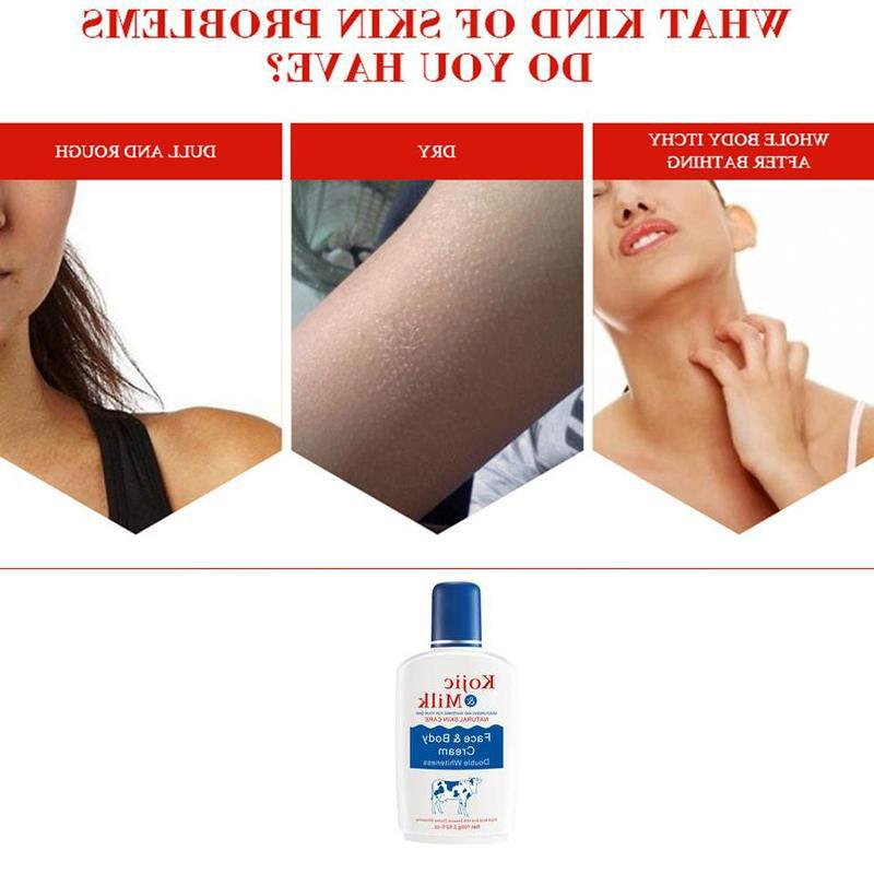 100ml <font><b>Milk</b></font> Bleaching Whitening Cream Lightening <font><b>Body</b></font> Ead Skin