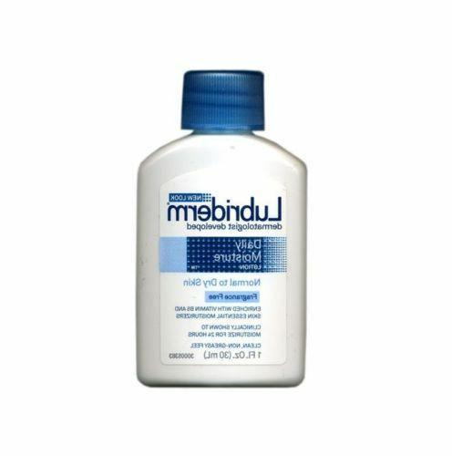 60 of Lubriderm Daily Moisture Lotion, Fragrance Free 1 oz