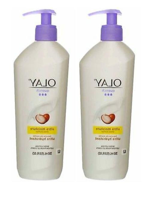 2 bottles quench ultra moisture body lotion