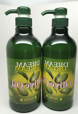 2 dream body olive oil lotion 750ml
