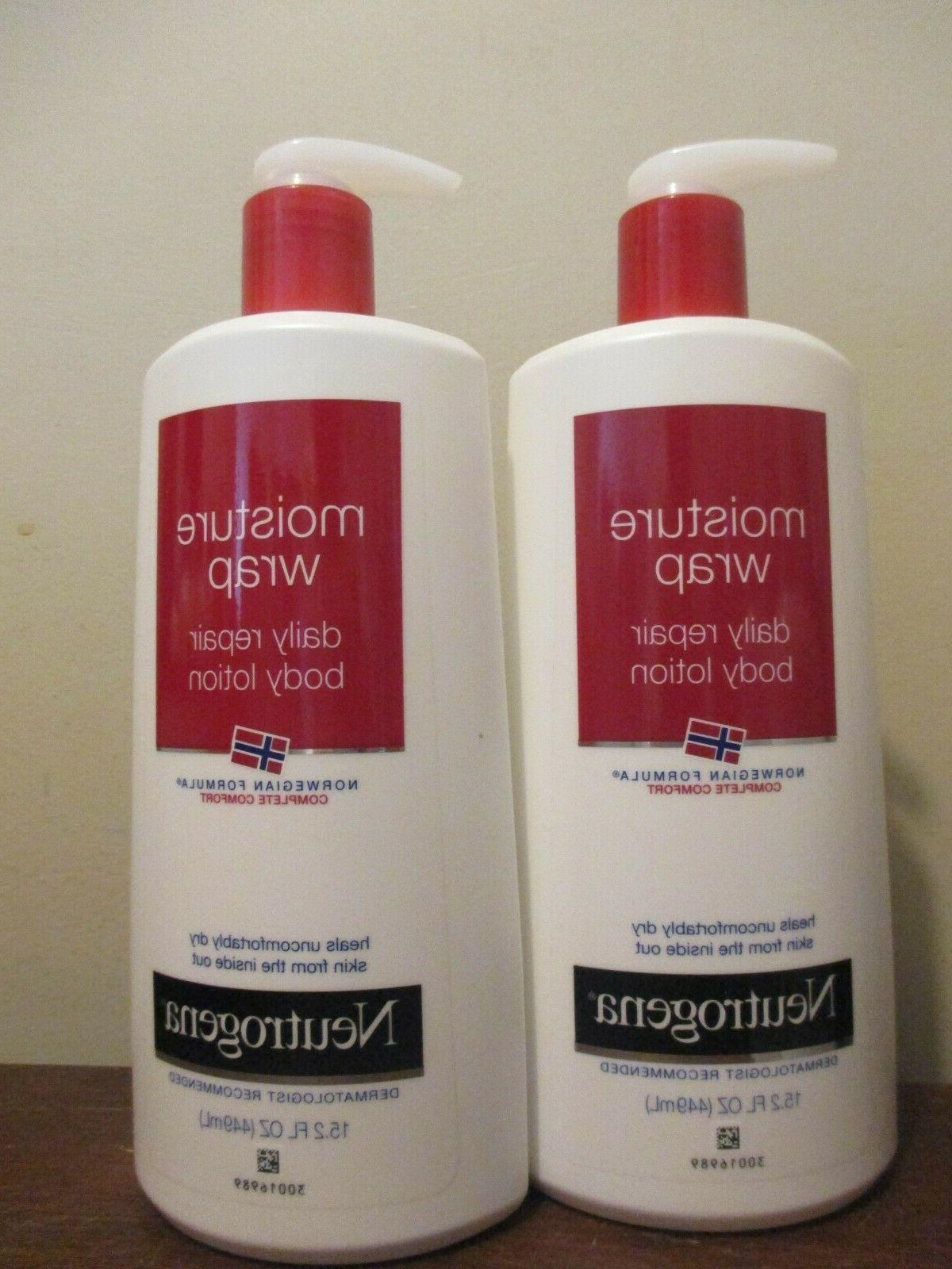 2 norwegian formula moisture wrap daily repair