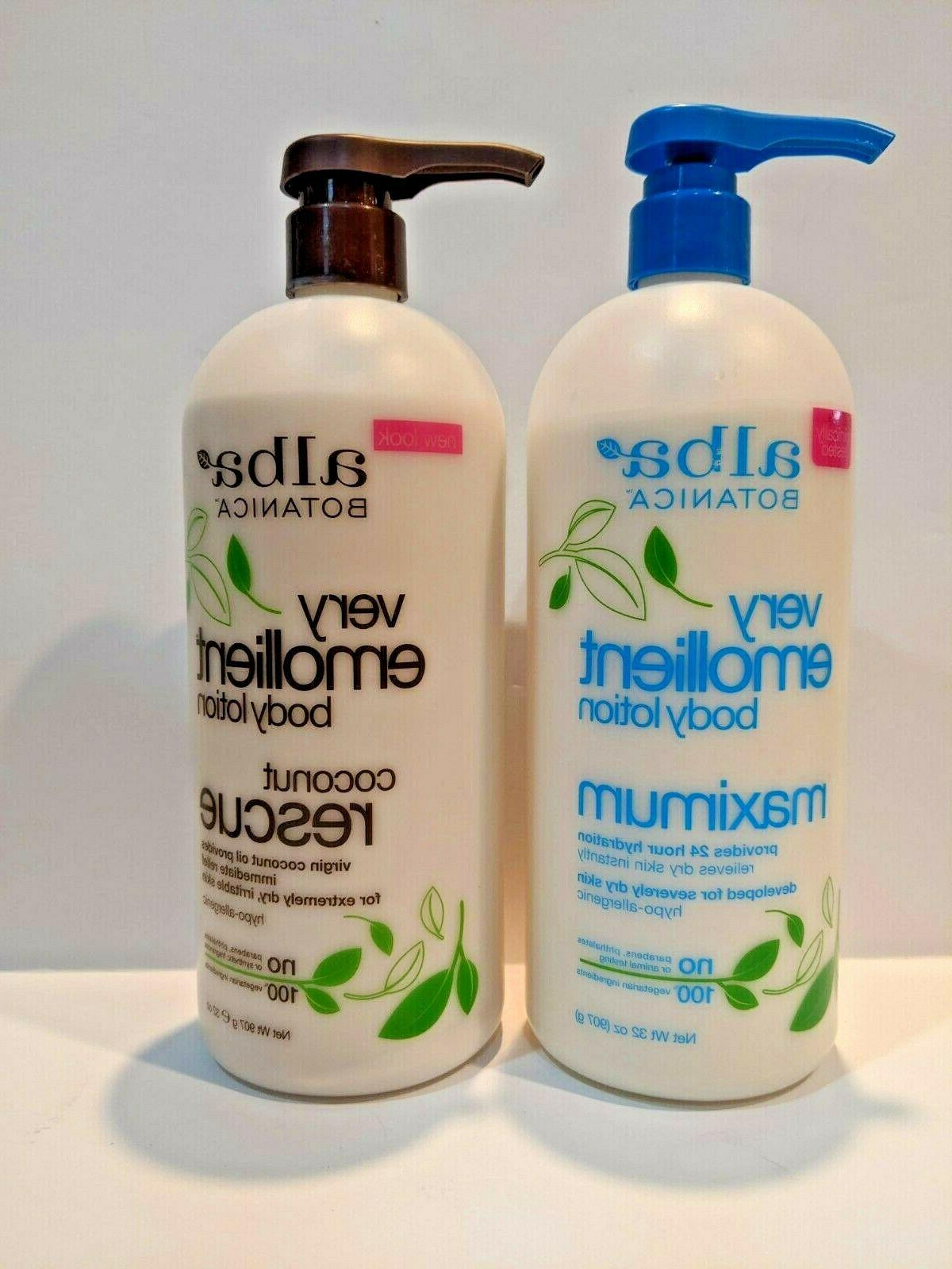 2 pack very emollient body lotion 32oz