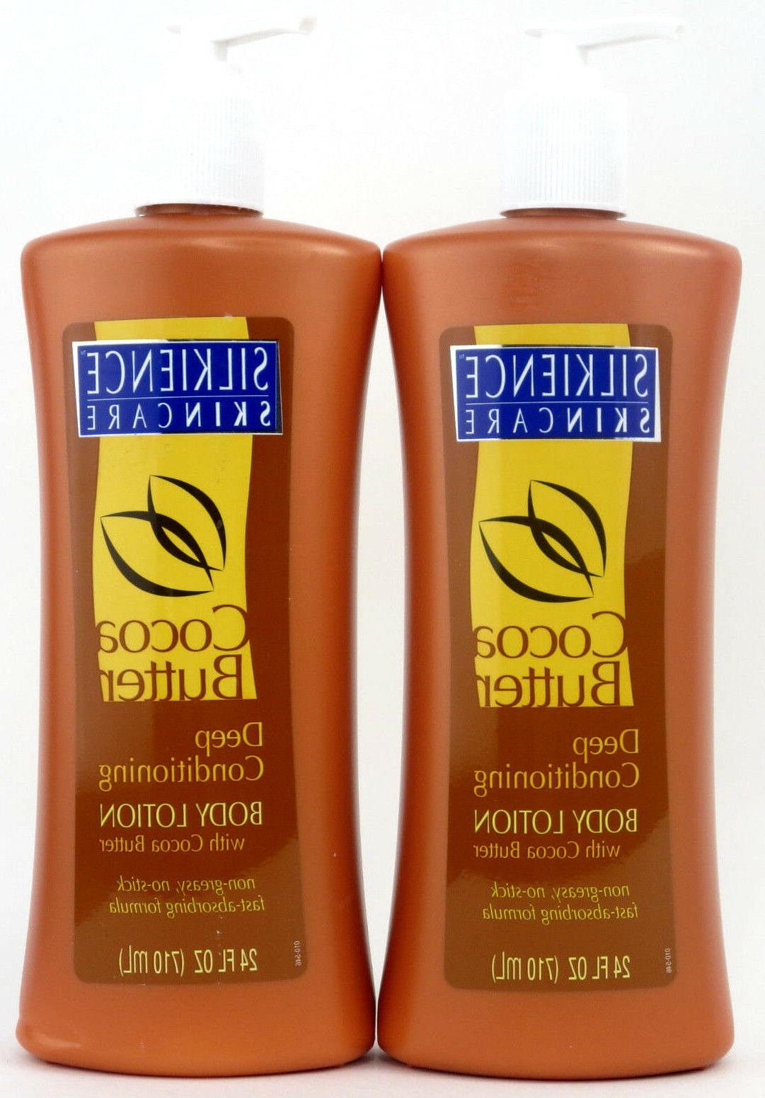 2x silkience deep conditioning body lotion w