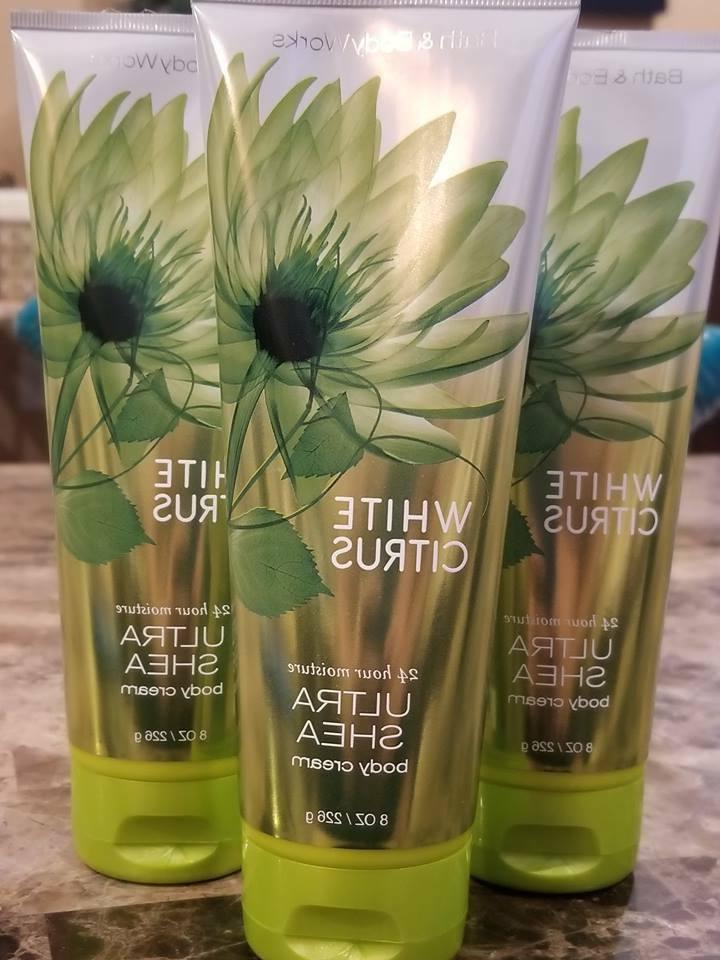 3 bath and body works white citrus