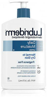 3 Pack Lubriderm Daily Moisture Body Lotion For Dry Skin  Fr