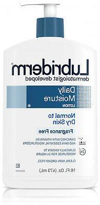 Lubriderm Daily Moisture Body Lotion For Dry Skin, Fragranc