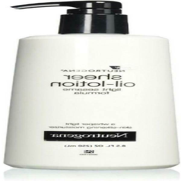 3 pack sheer oil lotion skin silkening