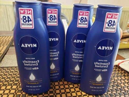4 body lotion essentially enriched 48 hr