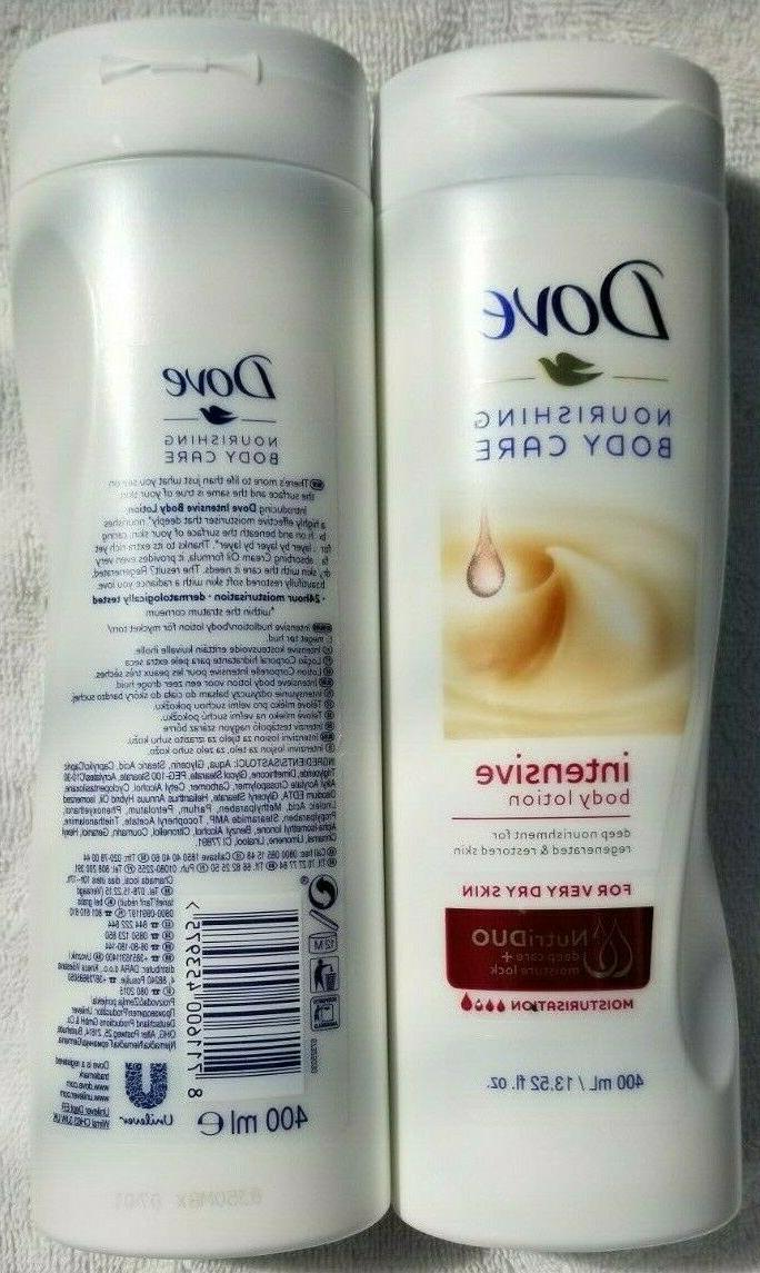 4x Dove Intensive Nourishing BODY LOTION Extra Dry Skin DEEP