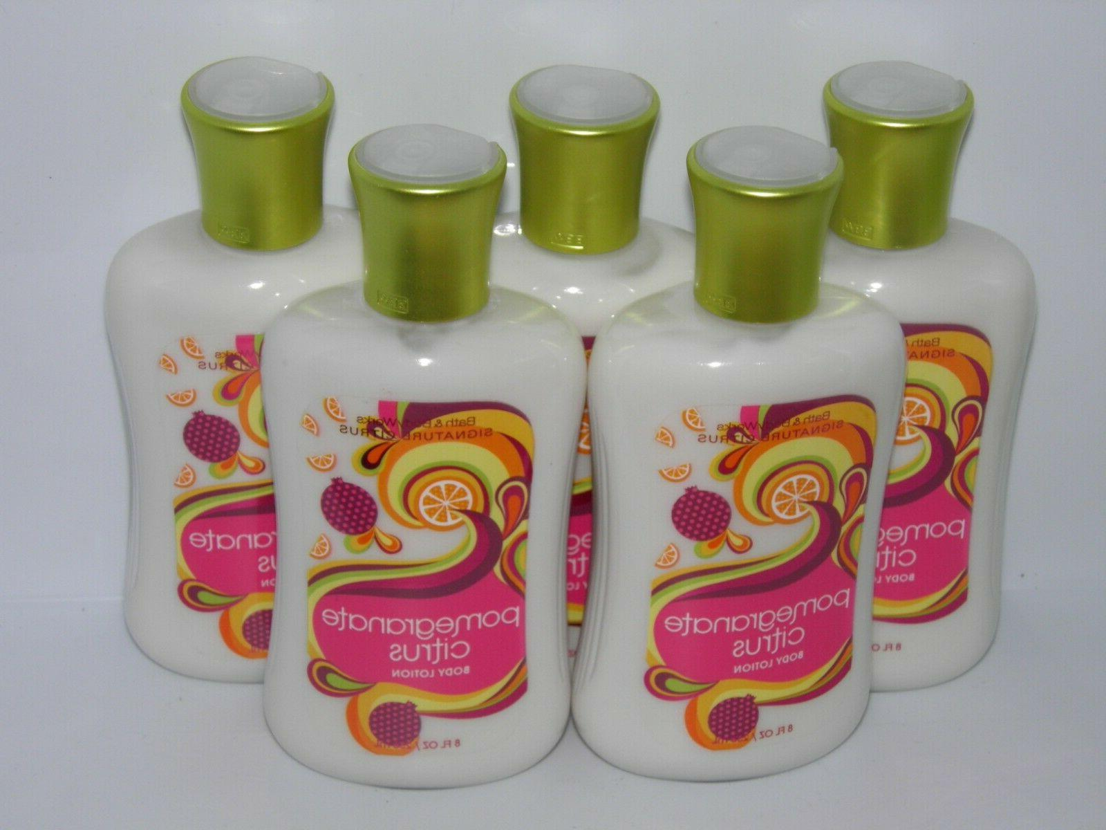 5 pack bath and body works pomegranate