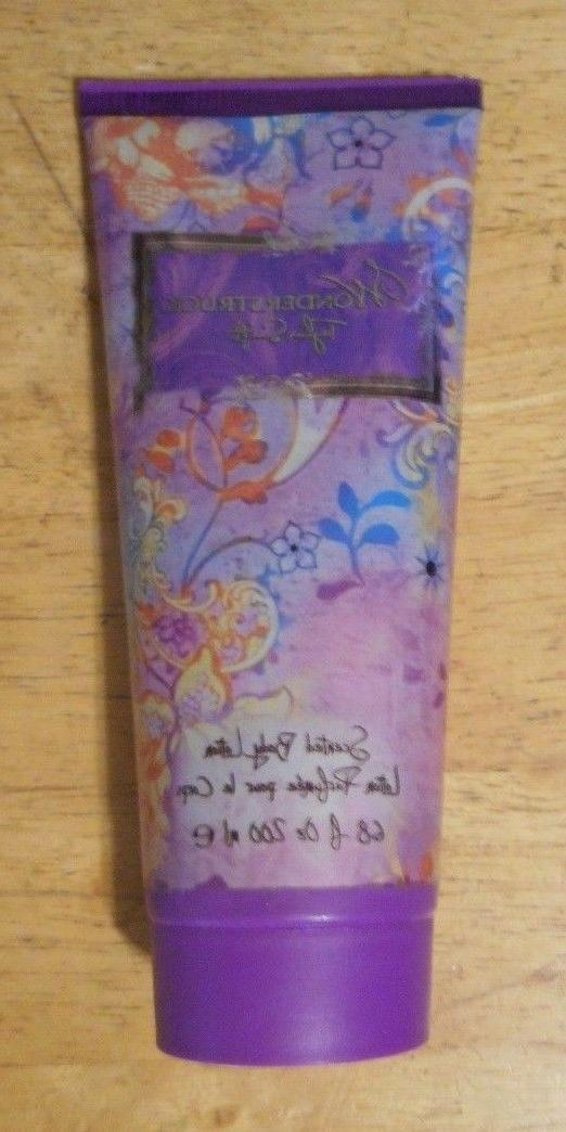 6.8oz TAYLOR SWIFT WONDERSTRUCK SCENTED BODY LOTION unsealed