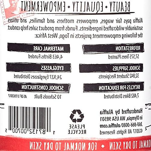 Alaffia - Dry Moisturize and Oxidation Berry and Coconut Oil, Fair Trade, and Coffee Berry, 32