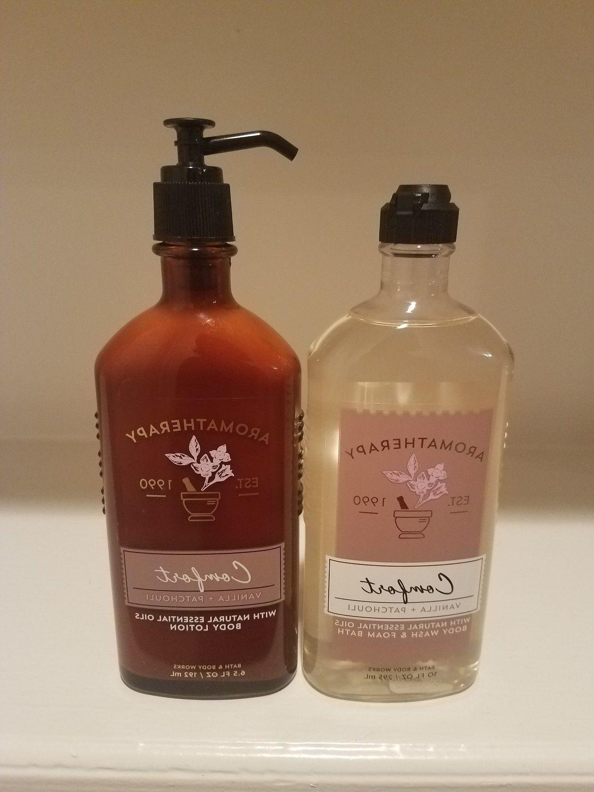 Bath & Body Works Aromatherapy Comfort Body Wash and Body Lo