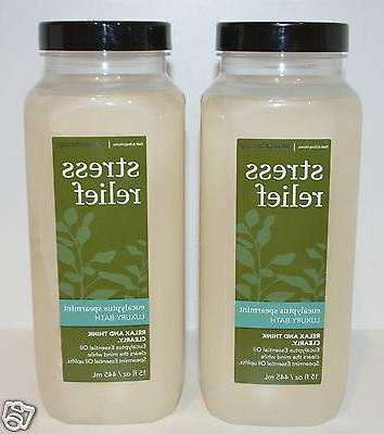 Bath &Body Works Aromatherapy Stress Relief Eucalyptus Spear