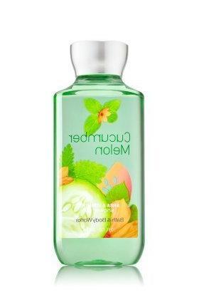 Bath Body Works Cucumber Melon 10.0 oz Shower Gel