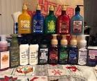 Bath and Body Works Various HAND SOAP & LOTION Holiday Curre
