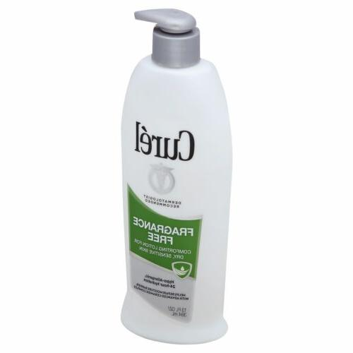 Curel Frag Free Formula Size 13z Curel Fragrance Free Moistu