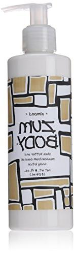 Indigo Wild Zum Body Lotion, Almond, 8 Fluid Ounce