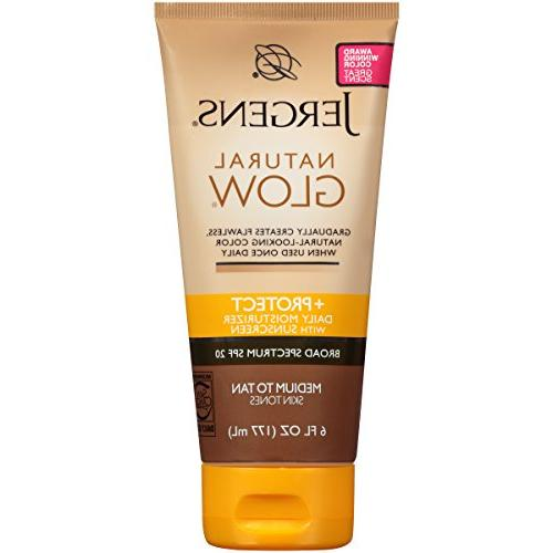 Jergens Natural Glow + Protect Daily Moisturizer Sunscreen S