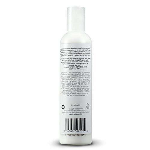 John Bare Lotion for All Skin Types Natural Free Oil for Men Women to -