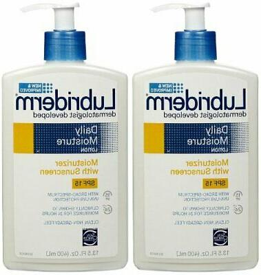 Lubriderm Daily Moisture Hydrating Body Lotion with Vitamin