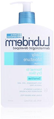 Lubriderm Daily Moisture Lotion For Sensitive Skin, 16 Fl. O