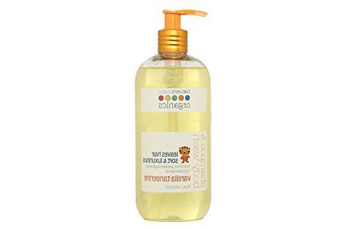 Nature's Baby Organics Shampoo & Body Wash, Vanilla Tangerin