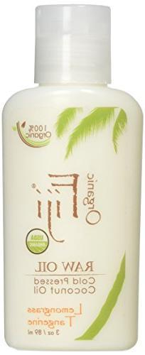 Organic Fiji, Nourishing Lotion Lemongrass Tangerine 3 fl oz