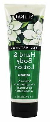 Shikai Lotion Hand and Body Gardenia, 8 oz