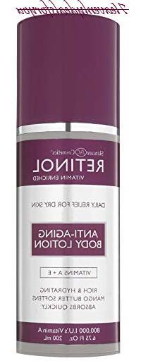 Skincare Retinol Anti-Aging Body Lotion 6.75oz