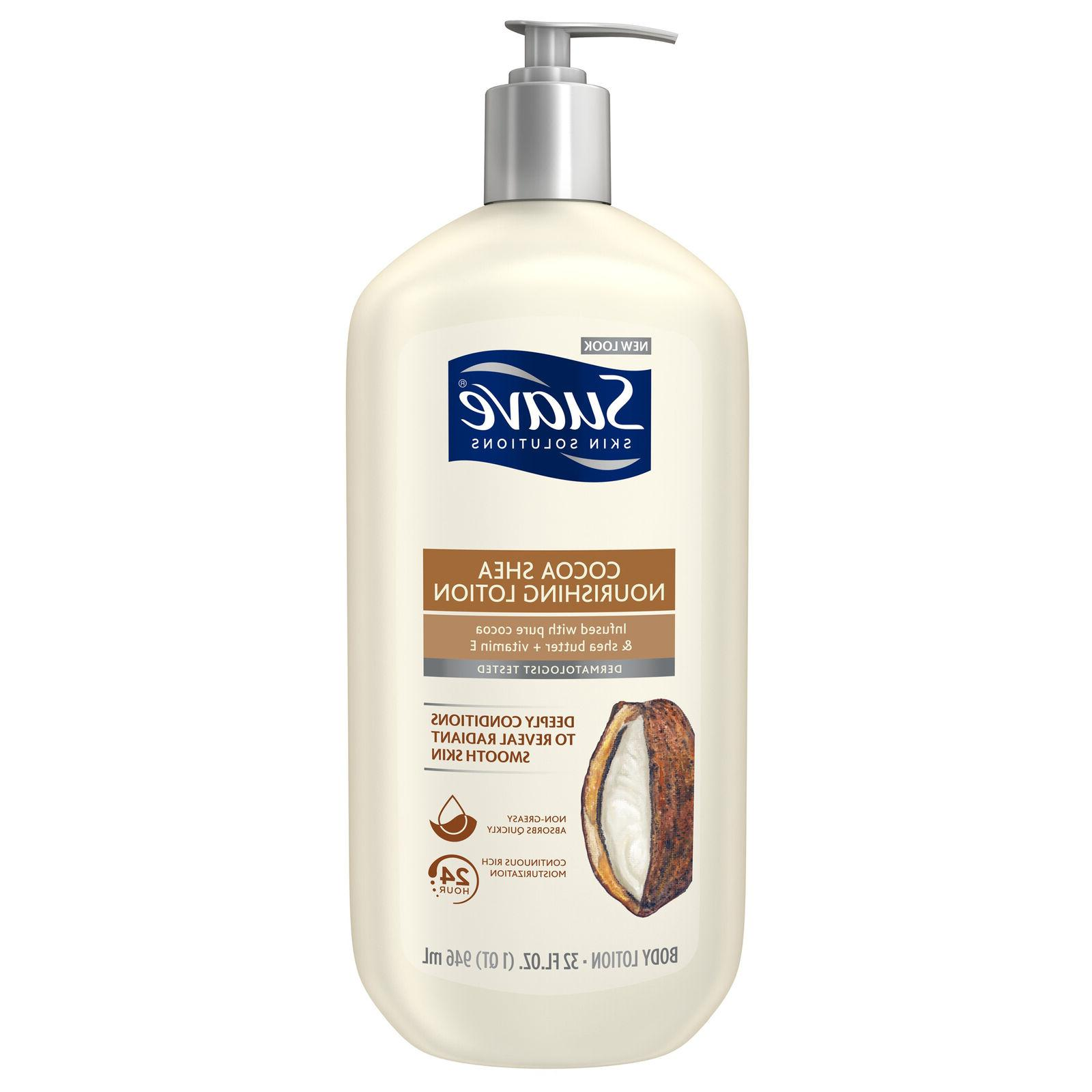 Suave Skin Solutions Body Lotion, Smoothing with Cocoa Butte
