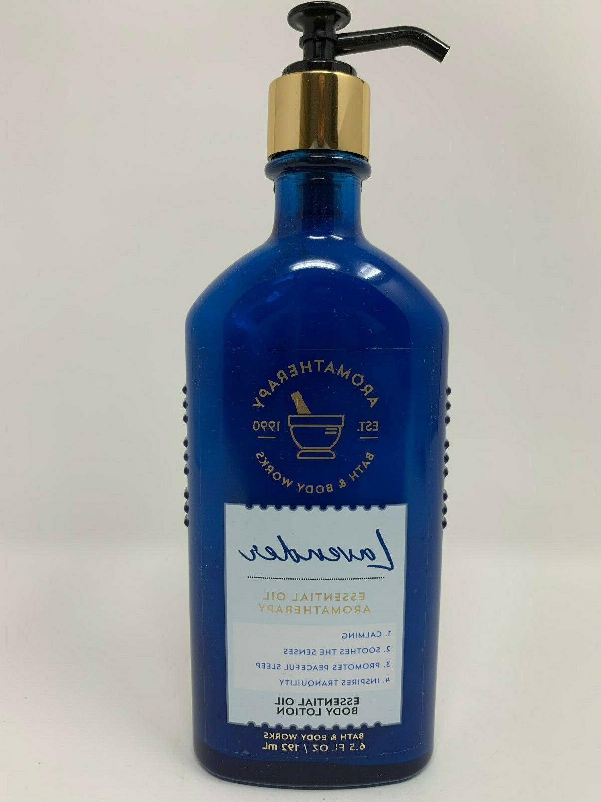 TWO  BATH BODY WORKS Aromatherapy LAVENDER Body Wash Shower