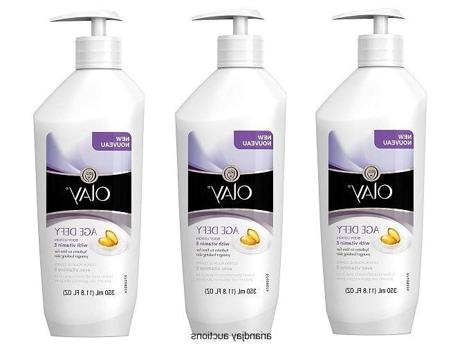 Lot New Olay Age Body Lotion 11.8 3
