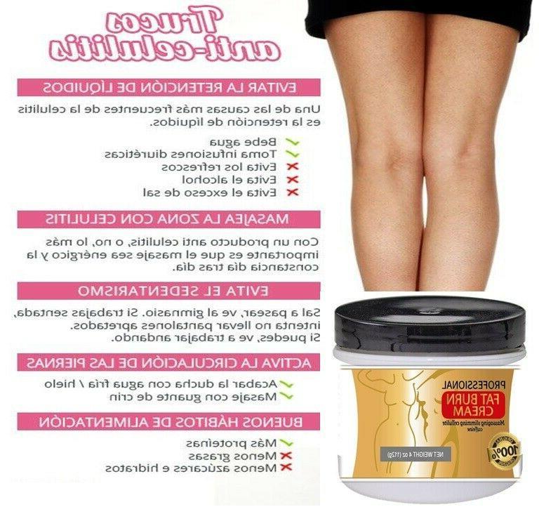 Anti Hot Cream Weight Loss Fat Burner Body