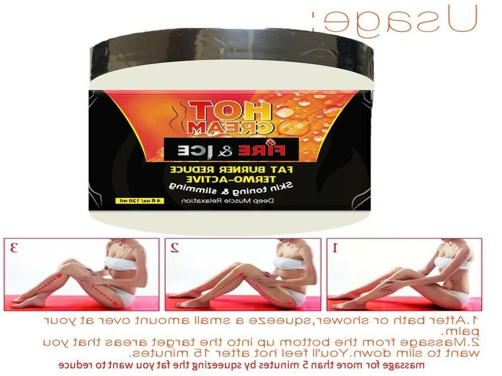 Anti Cellulite Slimming Loss Cream Burner Firming Body