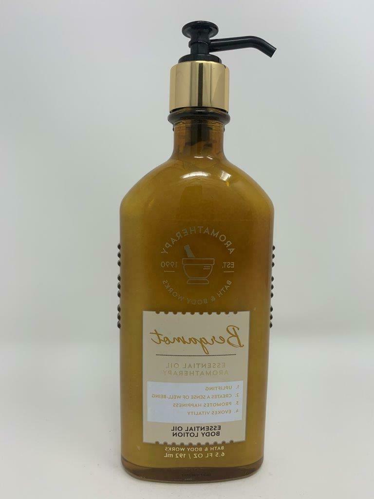 aromatherapy bergamot
