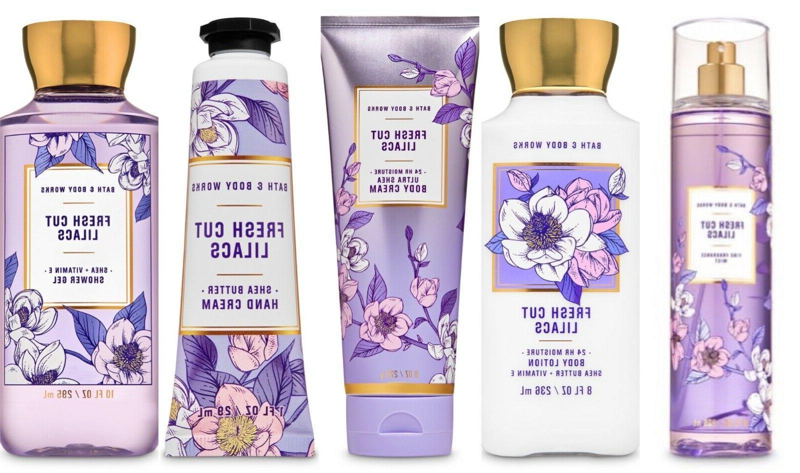 bath and body works fresh cut lilacs