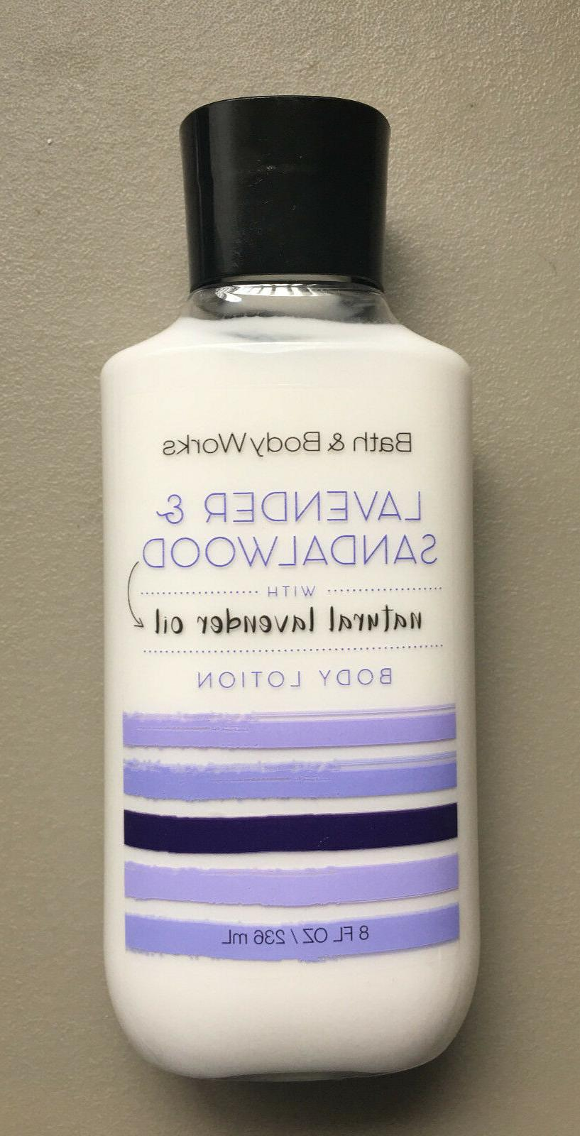 bath and body works lavender and sandalwood