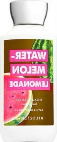 Bath & Body Works Watermelon Lemonade Body Lotion ~ 8 oz ~ L