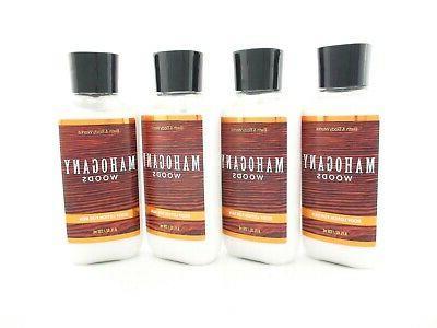 bath body works 4 mahogany woods lotion